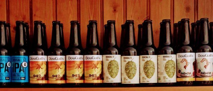 Dougalls ipa4, ipa9, apa942, organic ipa, brown ale tres mares, leyenda, pilsen raquera, lager