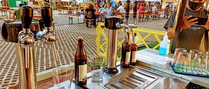 grifo de cerveza artesana, beer on tap, festival birra y art, oktober fest, narwall, kwaw, stand cervecero, pide lo que quieras, cerveza para todos,