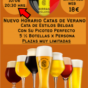 Cata de Estilos de Cervezas Belgas