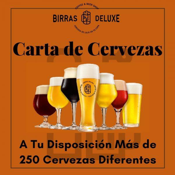 carta de cerveza